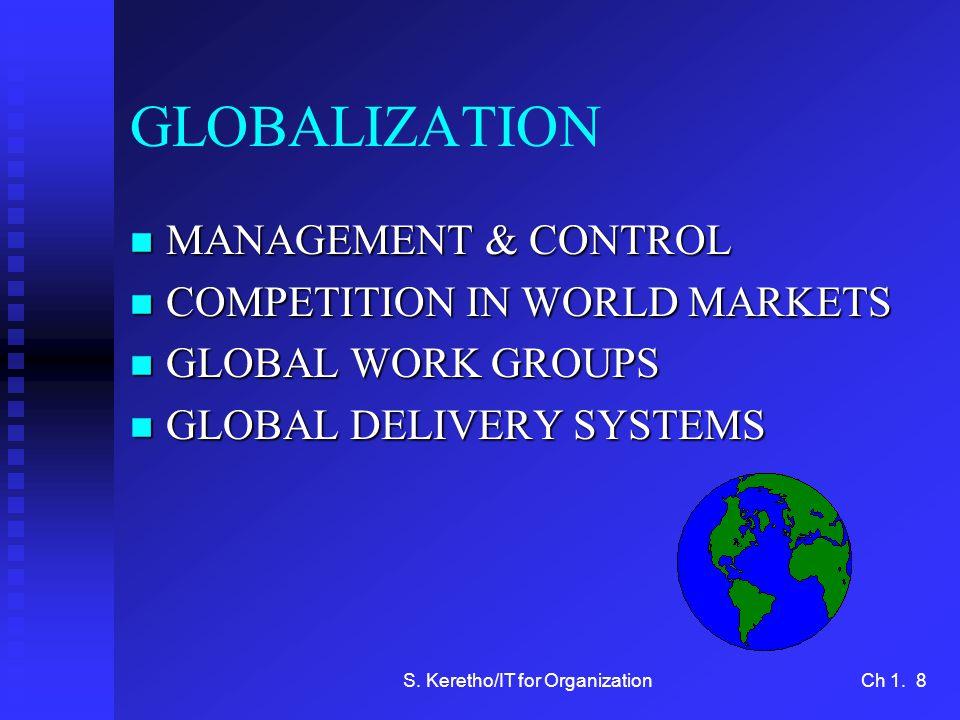 S.Keretho/IT for OrganizationCh 1.
