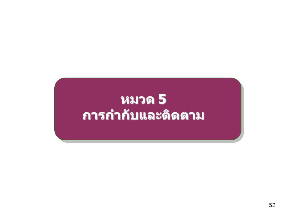 53 การกำกับและติดตาม ให้ผู้ตรวจราชการสำนักนายกรัฐมนตรี และผู้ตรวจราชการ กระทรวงมหาดไทยมีอำนาจหน้าที่เร่งรัด ติดตามและประเมินผล การดำเนินการตามแผนพัฒนาจังหวัด/กลุ่มจังหวัด แผนปฏิบัติ ราชการประจำปีของจังหวัด/กลุ่มจังหวัด รวมทั้งการบริหาร งบประมาณจังหวัด/กลุ่มจังหวัด ให้ผู้ตรวจราชการสำนักนายกรัฐมนตรีและผู้ตรวจราชการ กระทรวงมหาดไทยรายงานผลการติดตามประเมินผลแก่ ก.