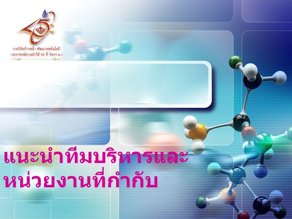 2  หน่วยบริหารงานวิจัย นวัตกรรม และทรัพย์สินทาง ปัญญา (Research Innovation and Intellectual Property Management Unit: RIIPMU)  วิจัยนวัตกรรม สิ่งประดิษฐ์  ทรัพย์สินทางปัญญา  การใช้ประโยชน์จากงานวิจัย ผู้ช่วยศาสตราจารย์ ดร.