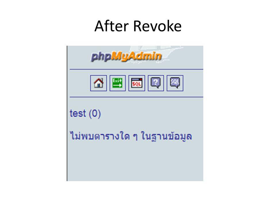 After Revoke