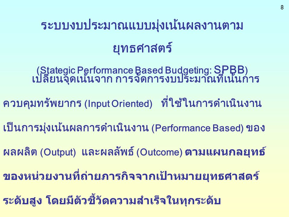 29 6.Third Party Evaluation 6.1 Periodic Evaluation ( Mile Stone ) 6.2 End Fiscal year