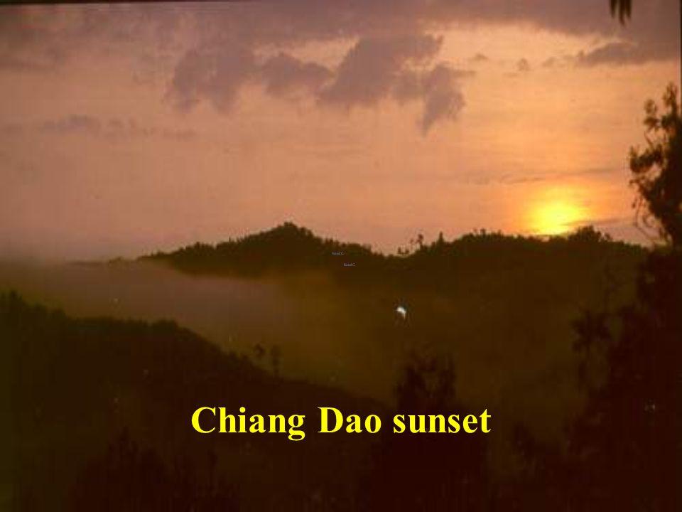 Chiang Dao sun set
