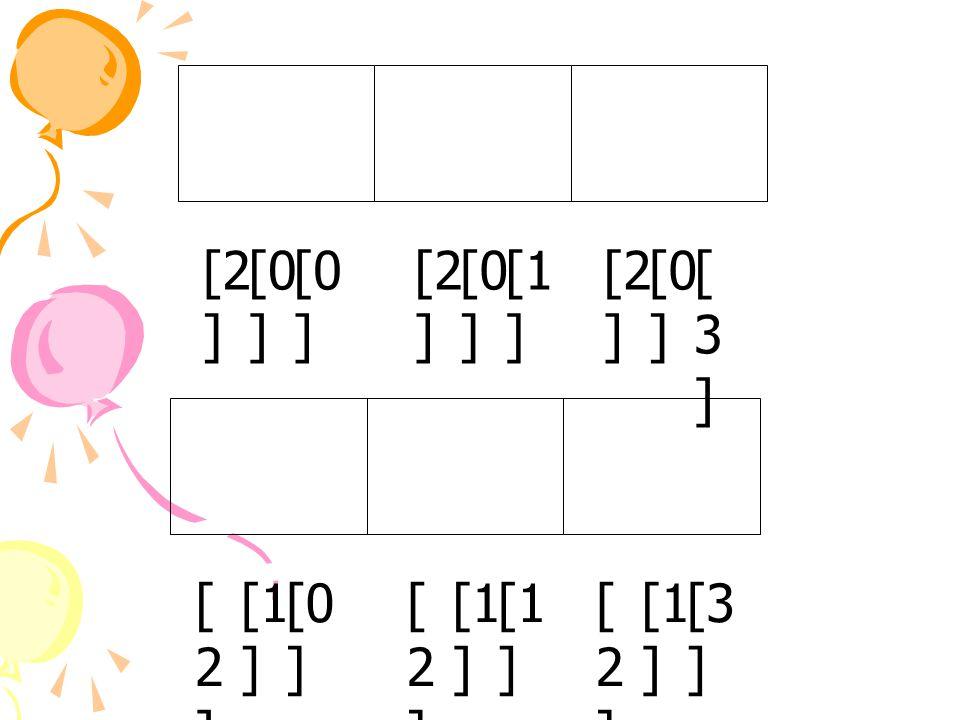 [0 ] [2 ] [0 ] [2 ] [1 ] [3][3] [0 ] [3 ] [1 ] [2][2] [2][2] [0 ] [2][2]