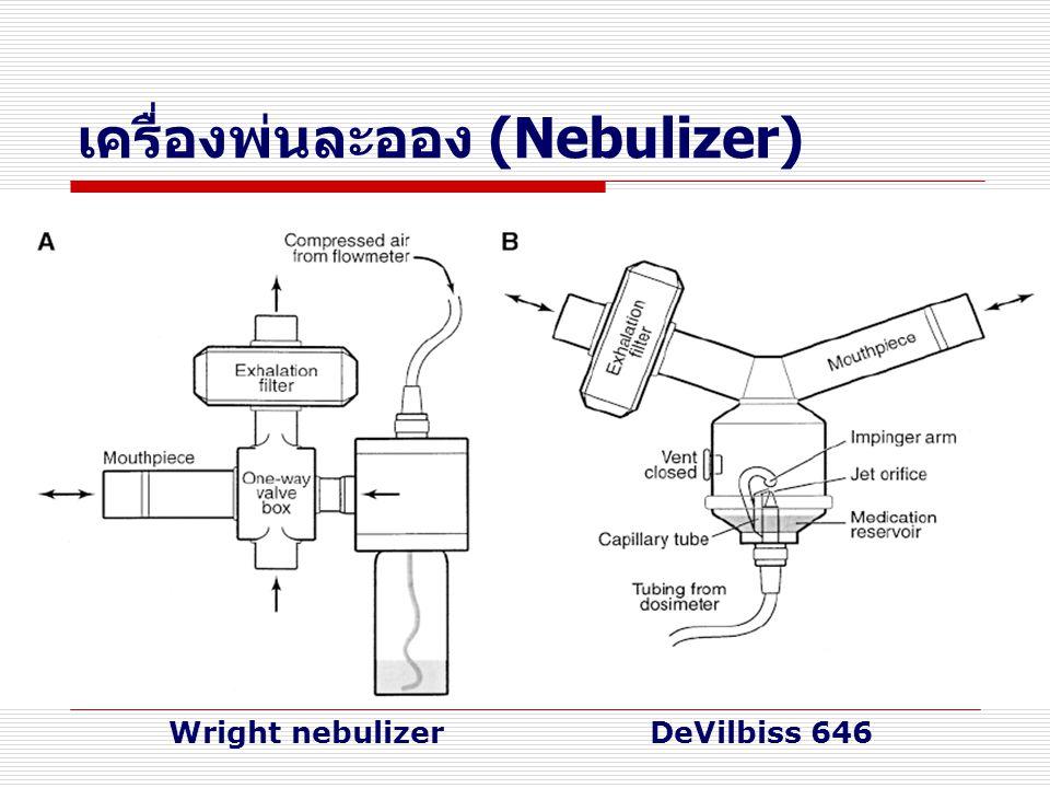 เครื่องพ่นละออง (Nebulizer) Wright nebulizerDeVilbiss 646