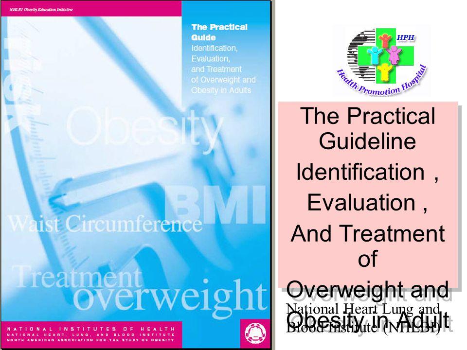 Goal สำหรับการลด น้ำหนัก 10 % ของน้ำหนักเริ่มต้นใน 6-12 เดือน เหตุที่ไม่ลดเร็วกว่านี้เพราะ – ระดับนี้สามารถลดความเสี่ยงจากโรคได้ – เกิด YO – YO น้อยกว่า – ติดตามผลในระยะยาว 1 ปี ผลที่ได้ดีกว่าลด น้ำหนักด้วยวิธีการที่เร็ว – ลดน้ำหนักเร็วโอกาสเกิด Gall Stone และ Electrolyte Imbalance มากกว่า