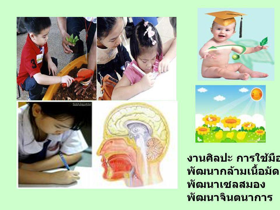 จิตที่แจ่มใส อยู่ใน ร่างกายที่แข็งแรง เด็กเล่น เพื่อออกกำลังกาย เด็กเล่น เพื่อเรียนรู้ทางสังคม เด็กเล่น เพื่อรู้จักแก้ปัญหา