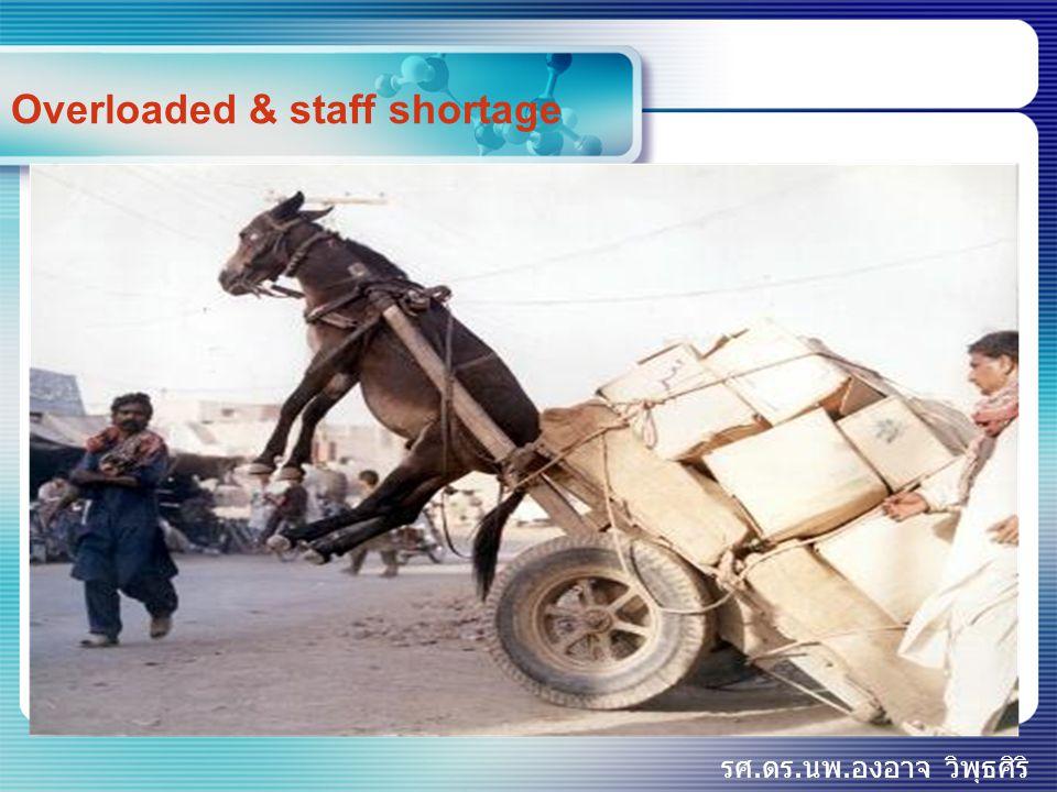 รศ.ดร.นพ.องอาจ วิพุธศิริ Overloaded & staff shortage