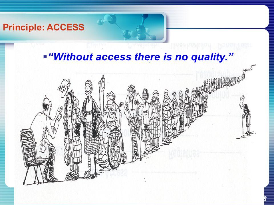 """รศ.ดร.นพ.องอาจ วิพุธศิริ Principle: ACCESS  """"Without access there is no quality."""""""