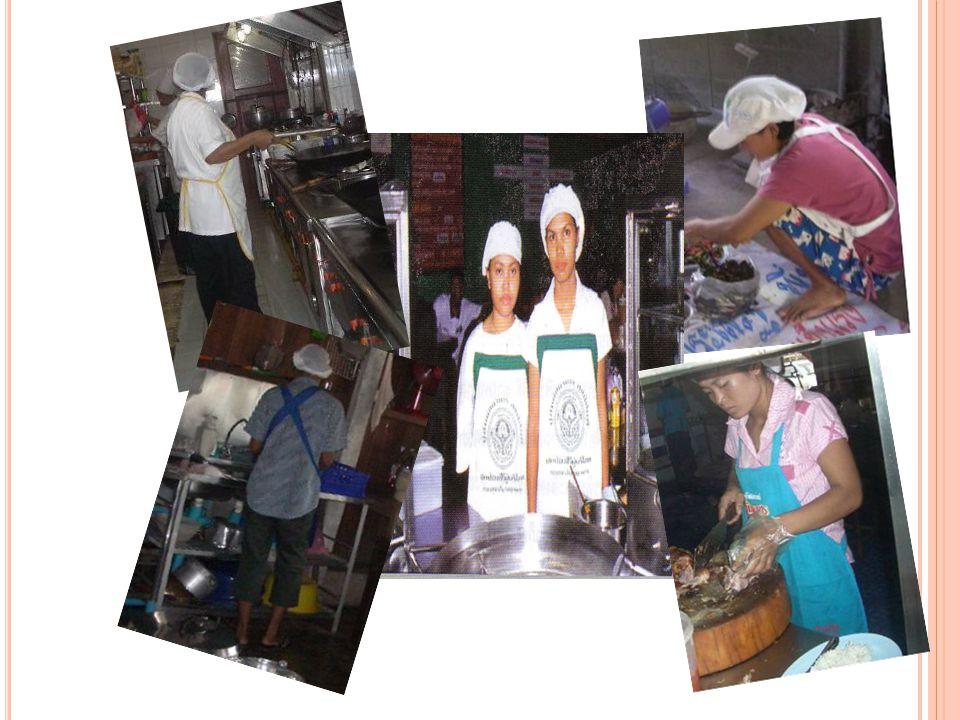 3. ล้างมือให้สะอาดด้วยน้ำ และสบู่ทุกครั้งก่อน ปรุงอาหาร และหลังออกจากห้องส้วม