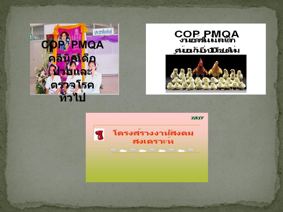 COP ครั้งที่ 4  เล่าสู่กันฟัง สุนทรียสนทนา โดย พี่อ้อย ( มณฑิรา )  นำเสนอลักษณะสำคัญขององค์กร ของแต่ละงาน