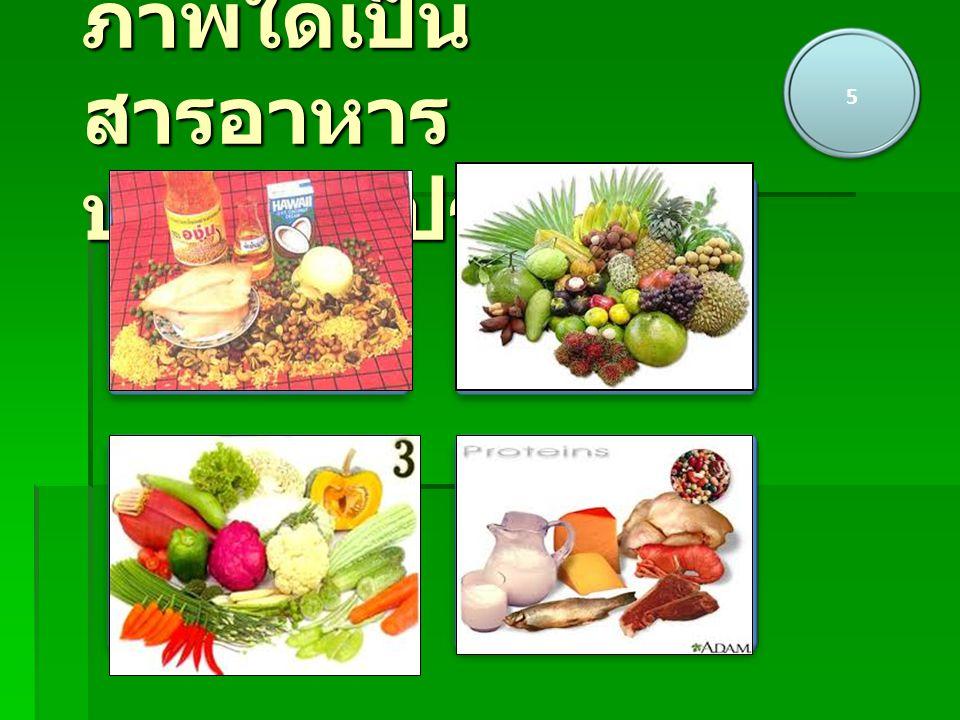 5 AB CD ภาพใดเป็น สารอาหาร ประเภทโปรตีน