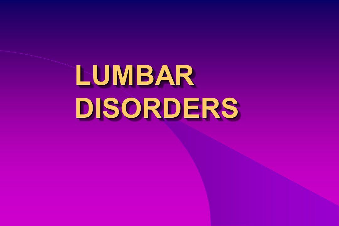 Lumbar disc herniation Lumbar stenosis Lumbar spondylosis Lumbar spondylolithesis Lumbar disc herniation Lumbar stenosis Lumbar spondylosis Lumbar spondylolithesis