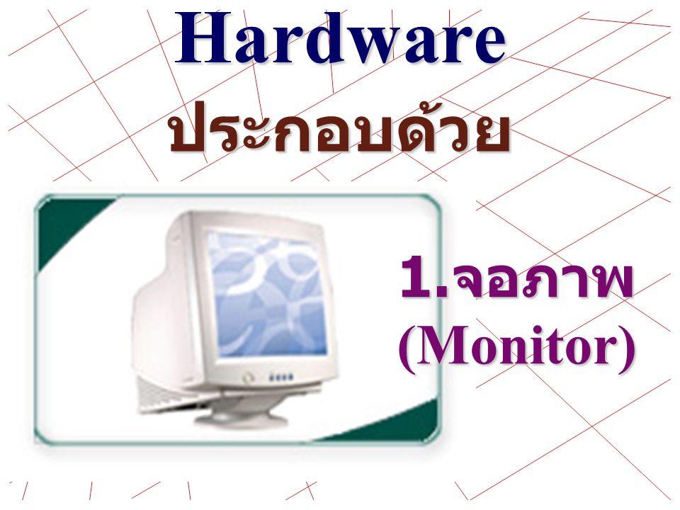 ระบบของ คอมพิวเตอร์ Computer System มีด้วยกัน 3 ระบบคือ Hardware Software People ware