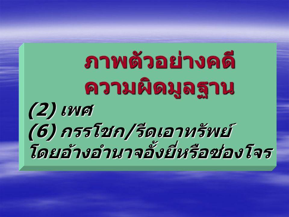 ความผิดตามกฎหมายการป้องกันและ ปราบปรามการค้ามนุษย์ 2551 มาตรา 6 ผู้ใด (1) เป็นธุระจัดหา ซื้อ ขาย จำหน่าย พามาจาก หรือส่งไปยังที่ใด หน่วงเหนี่ยวกักขัง
