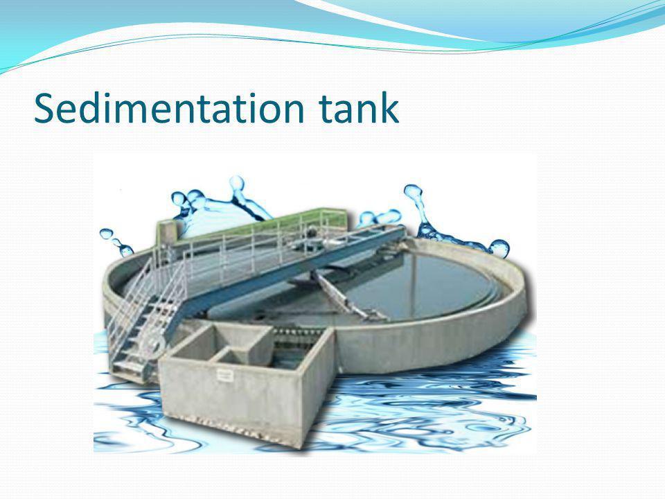 Sedimentation tank