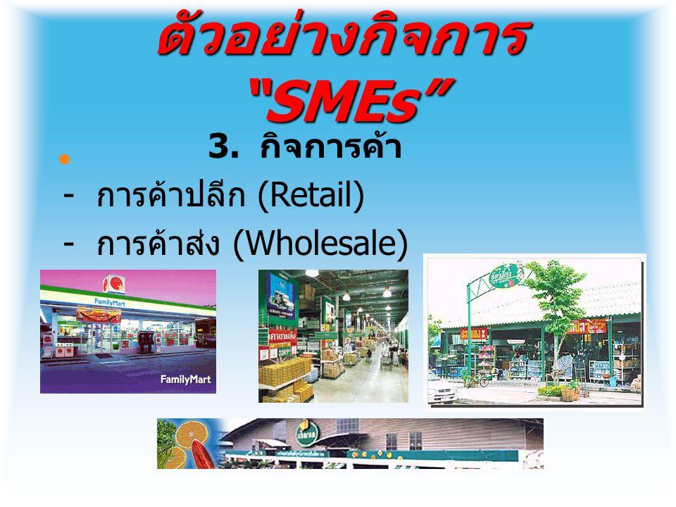 เว็บไซด์เกี่ยวกับ SMEs http://www.smethai.go.th http://www.sme.go.th http://www.ismed.or.th http://www.otopweb.com http://www.thaitambon.com http://www.depthai.go.th/th/newDep/1 products.asp http://www.tisi.go.th/otop/otop.thml http://www.sme.go.th/websme/otop/de fault.asp