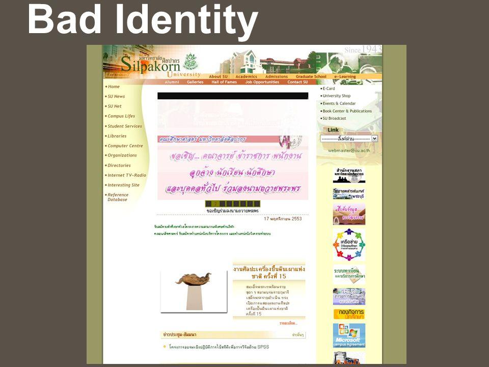 Bad Identity