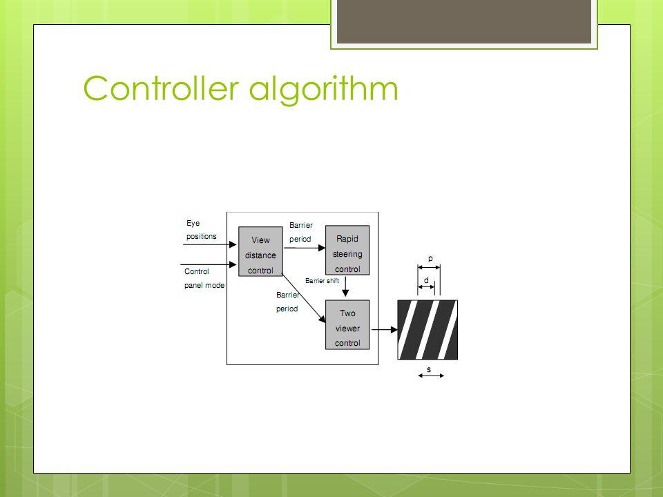Controller algorithm