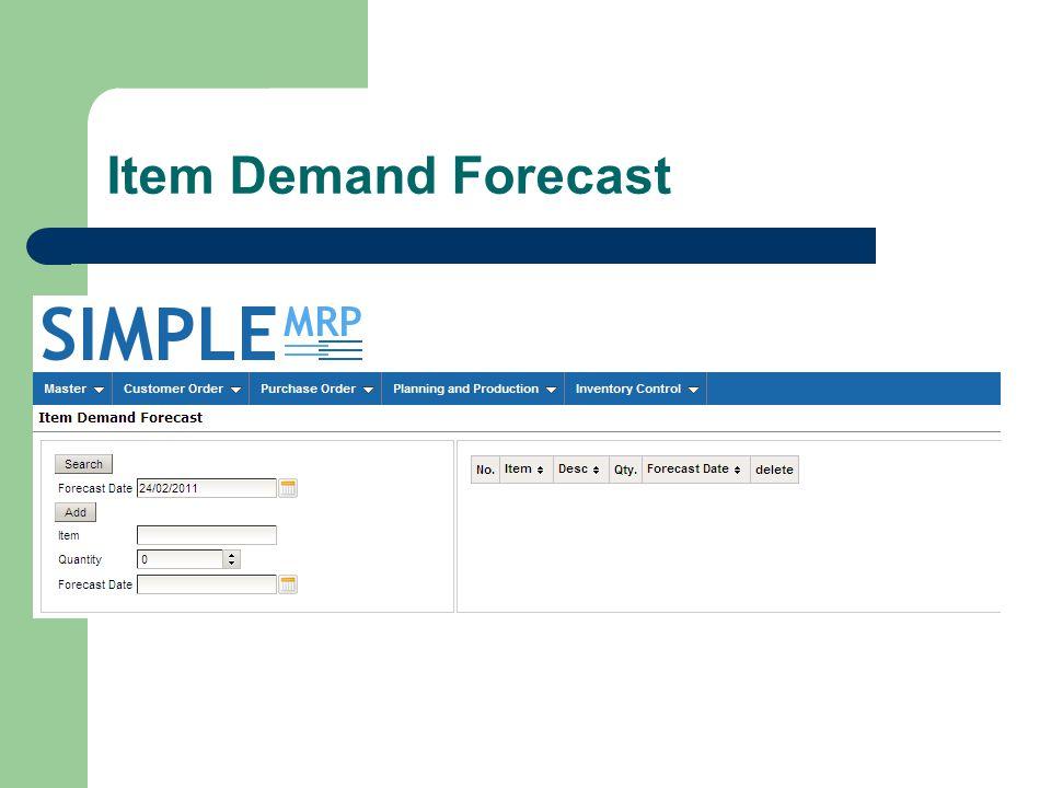 Item Demand Forecast