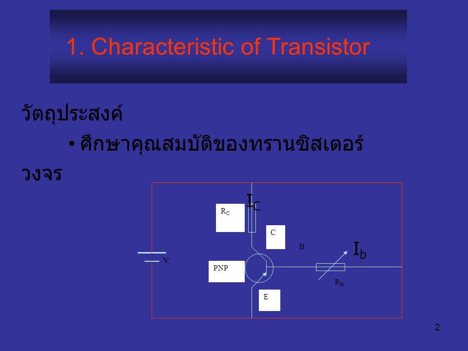 1 PH114(SCE102) ป ฏิบัติการฟิสิกส์ 2 1. ท รานซิสเตอร์ (Transistor) 2. ม ิเตอร์บริดจ์ (Meterbridge) 3. โ พเทนชิโอมิเตอร์ (Potentiometer) 4. โ ฟโตเมตรี