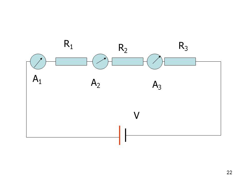 21 8. การต่อตัวต้านทาน (Resistor) ศึกษาการต่อตัวต้านทาน แบบอนุกรม ขนาน ผสม R1R1 R2R2 R3R3 V1V1 V2V2 V 3 V
