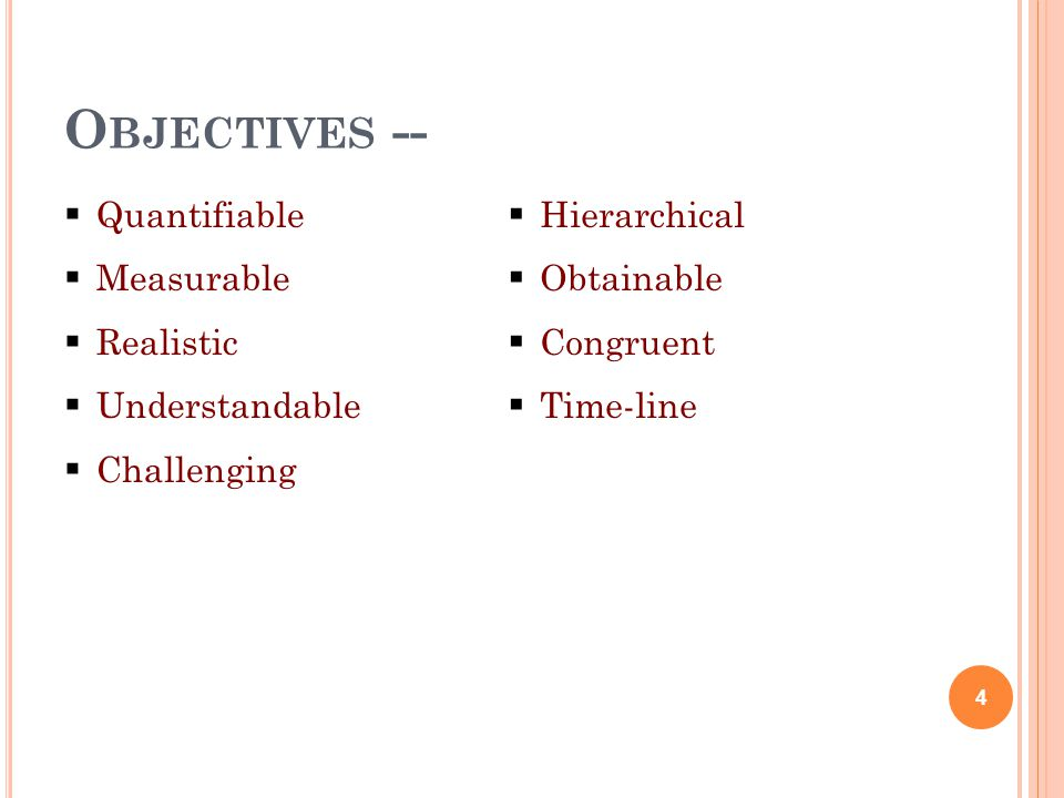 SMART Specific Measurable Achievable Results Timeframe 5