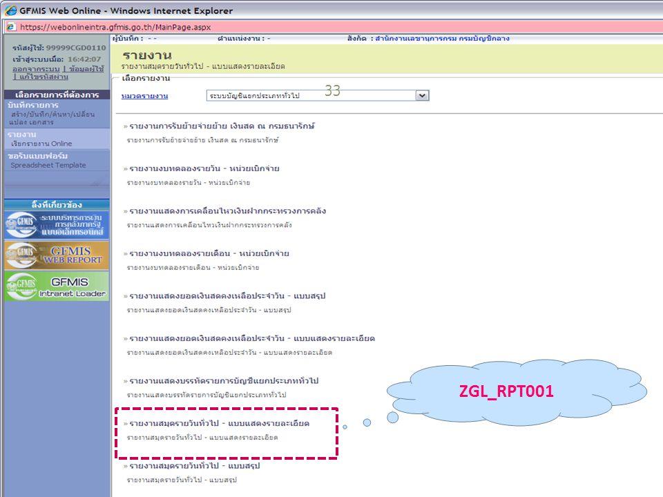 33 ZGL_RPT001
