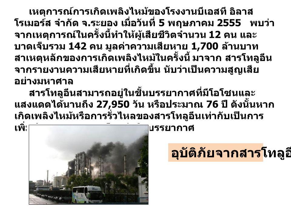 เหตุการณ์การเกิดเพลิงไหม้ของโรงงานบีเอสที อิลาส โรเมอร์ส จำกัด จ.