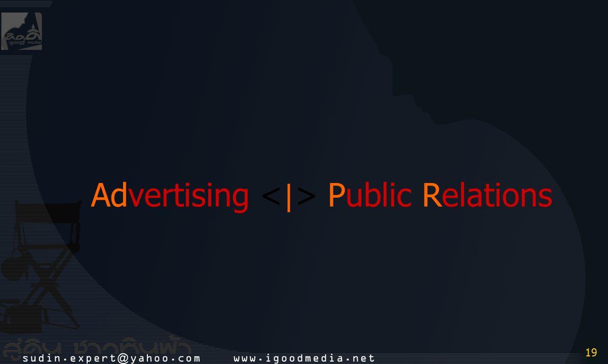 19 Advertising Public Relations