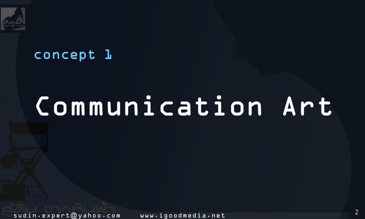 2 2 concept 1 Communication Art