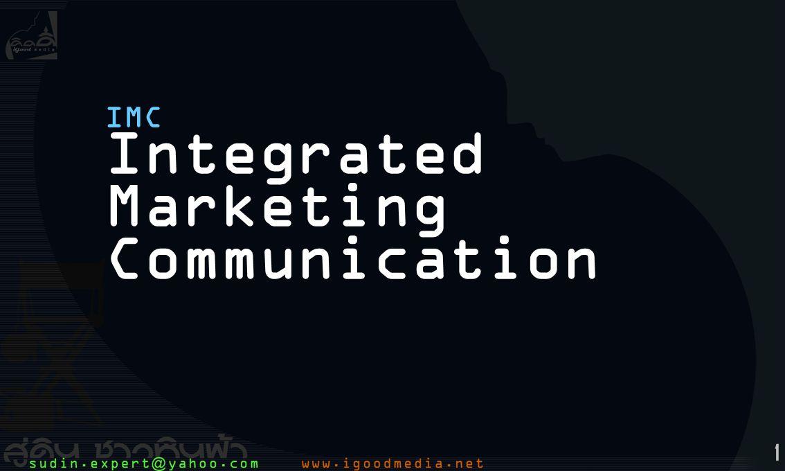 1 IMC Integrated Marketing Communication