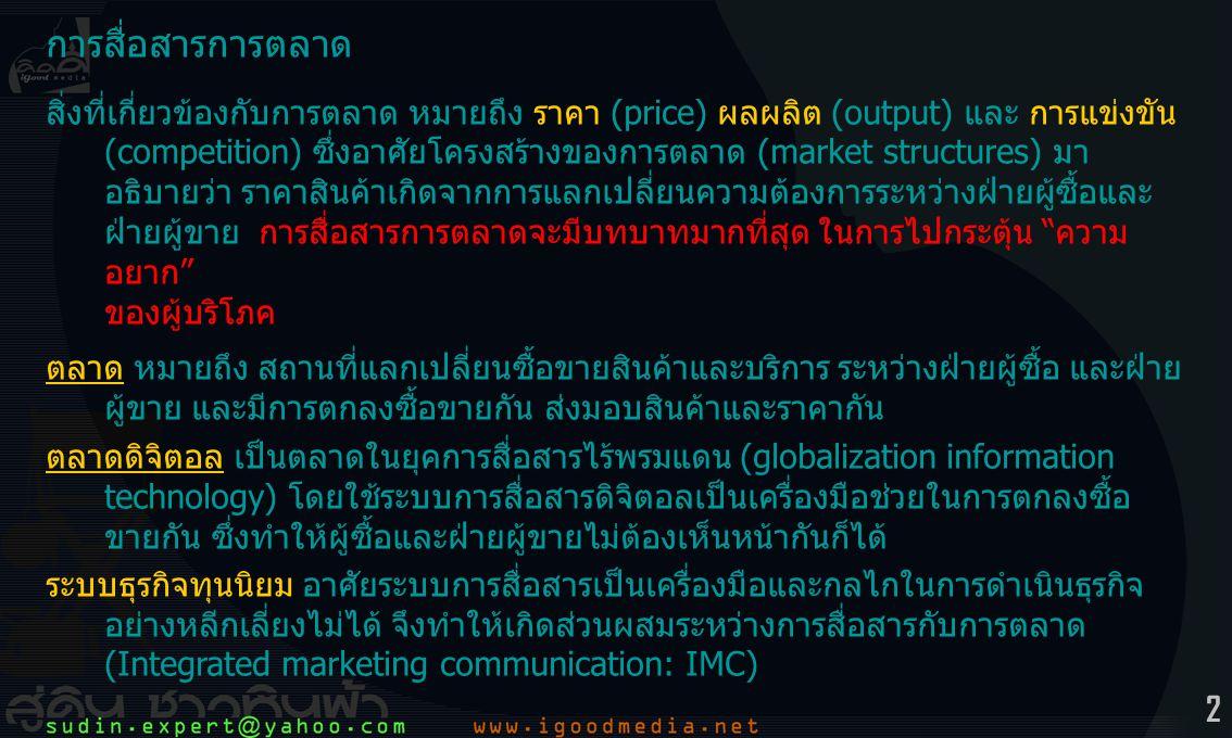 3 การสื่อสารการตลาด 1.