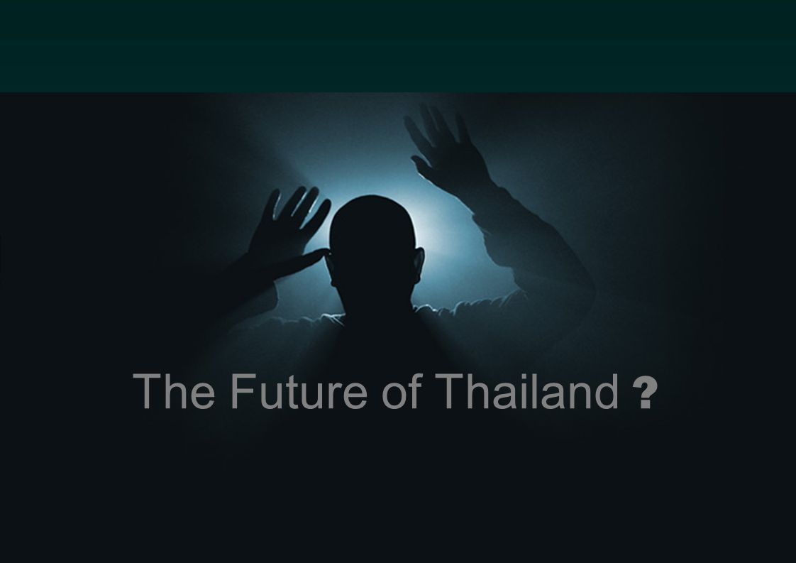 Introduction to Information Science 23 The Future of Thailand ?