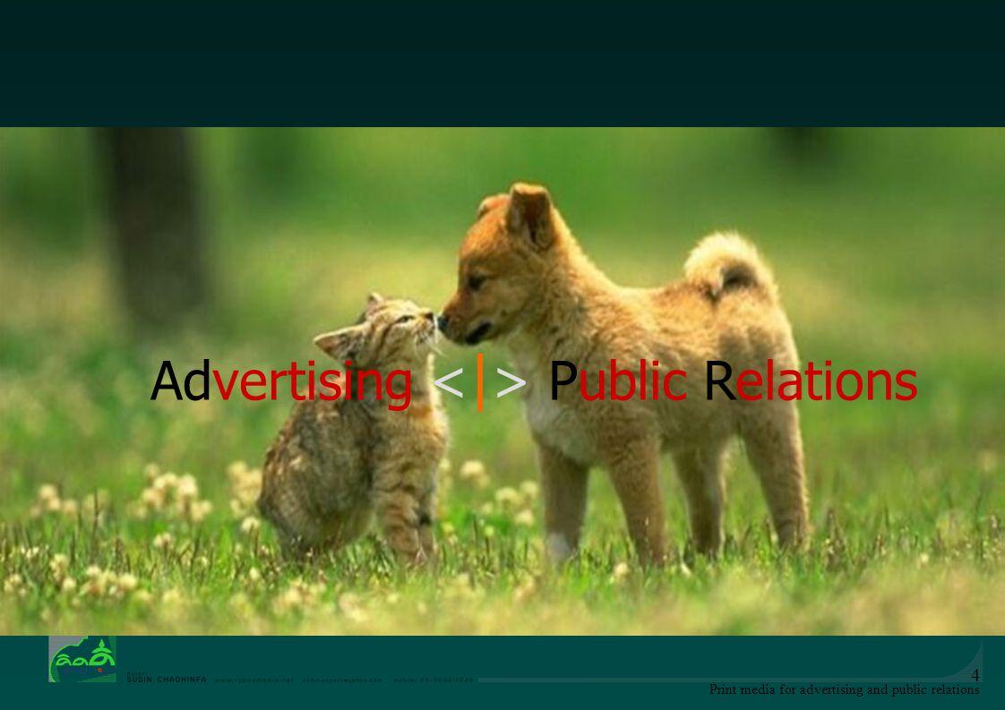 Print media for advertising and public relations 15 วัตถุประสงค์การโฆษณา 1.วัตถุประสงค์หลัก -เพื่อแนะนำสินค้าหรือบริการ -เพื่อส่งเสริมการซื้อสินค้า -เพื่อรักษาค่านิยมในสินค้า