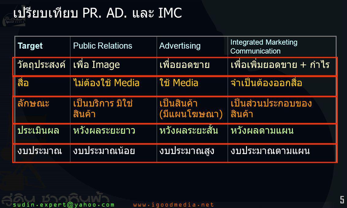 5 เปรียบเทียบ PR.AD.
