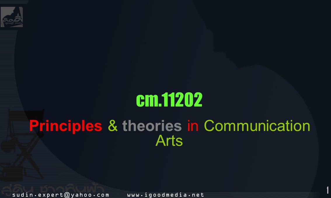 2 main concept communicate arts