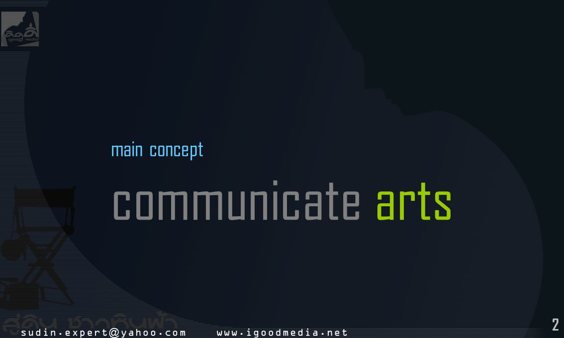 2 main concept communicate arts