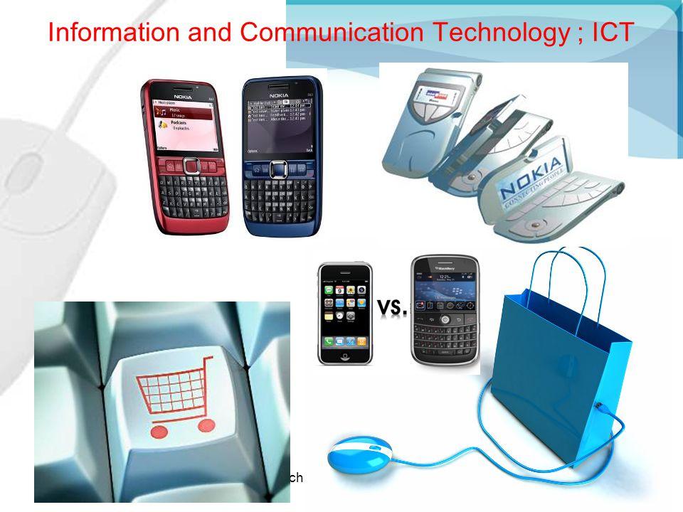 MK315Kulachatrakul@yahoo.com4 Why do we use ICT for Communicating.