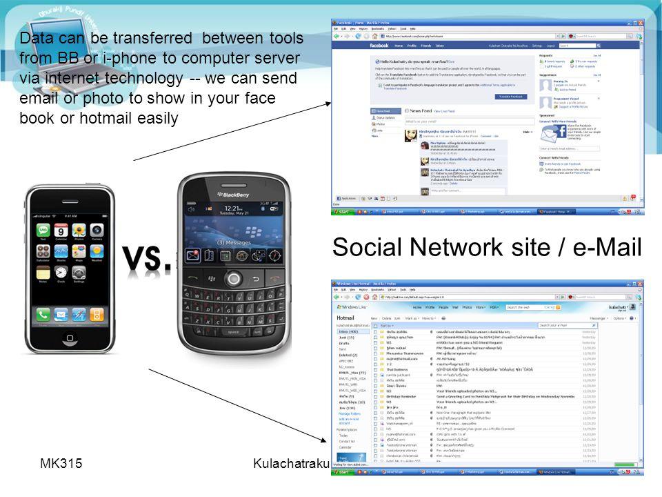 MK315Kulachatrakul@yahoo.com6 สถิติผู้ใช้อินเทอร์เนตในประเทศไทย http://internet.nectec.or.th/webstats/internetuser.iir?Sec=internetuser 16 M