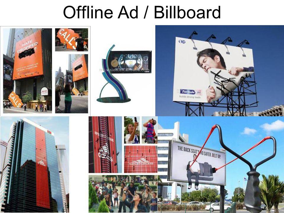 Offline Ad / Billboard