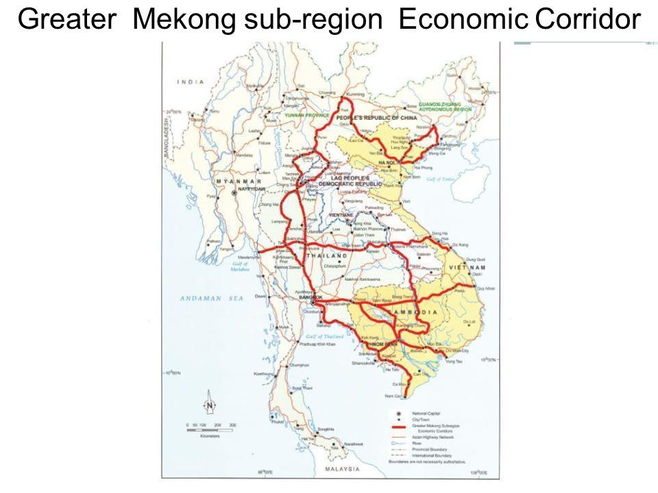 Greater Mekong sub-region Economic Corridor
