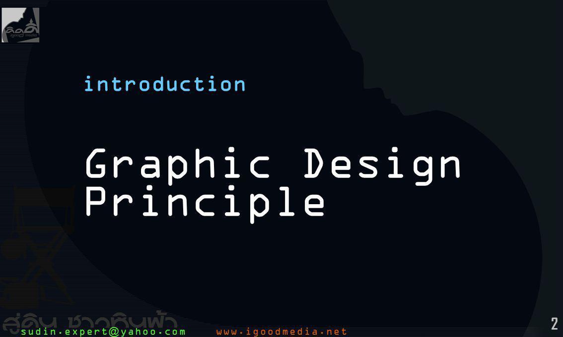 13 Content: 0Introduction Design & Graphic Design Designer ตัวขับความหมาย 1Basic Thinking Concept Creative Thinking Thinking Process 2Witty Thinking 3Pictography Signs การสื่อความหมาย Sight การรับรู้ทางตา Scenery การเล่าเรื่อง 4Composition Graphic Art องค์ประกอบศิลป์ การจัดองค์ประกอบกราฟิก Color & Transparency 5Print Design Illustration / Drawing Picture / Photo Copywriting Diagram Graphic Media 6Typography Font Font Spacing Ranging / Align 7Logy & Symbol Design Pictograph Symbol Logo Letter Mark Identity 8Scope of Graphic Design Publication & Information Interactive Film & Animation Multimedia Type Web การจัดการ ข้อความ เนื้อหา (copywriting) 5Print Design การจัดการ ออกแบบสิ่งพิมพ์ ร่วมสำนึกไทย รวมใจ ให้เป็น..