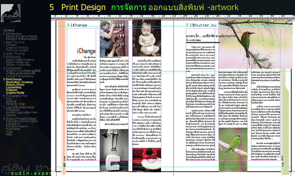 36 Content: 0Introduction Design & Graphic Design Designer ตัวขับความหมาย 1Basic Thinking Concept Creative Thinking Thinking Process 2Witty Thinking 3
