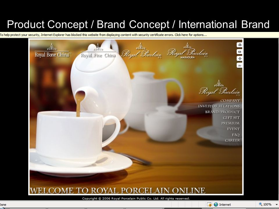 Kulachatr C. Na Ayudhya12 Product Concept / Brand Concept / International Brand