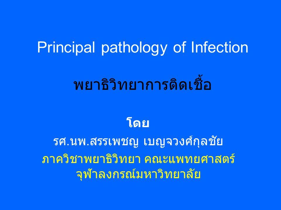 เชื้อจุลชีพแบ่งออกได้ดังนี้ ไวรัส (Virus) บักเตรี (Bacteria) เชื้อรา (Fungus) ปาราสิต (Parasite) แคลมมีเดีย (Chlamydiae) ริคเกทเซีย (Rickettsiae) ไมโครพลาสม่า (Mycoplasmas)