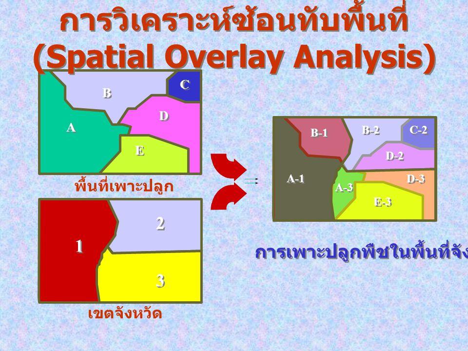 Spatial Analysis GISDataModel Raster Analysis (GRID) Geometric Analysis Network Analysis Cartographic Output ModelingInterfaces Visualization