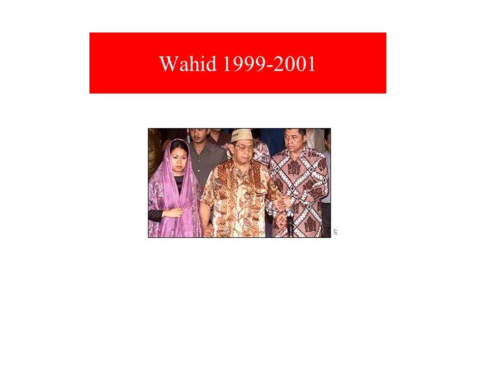 Wahid 1999-2001