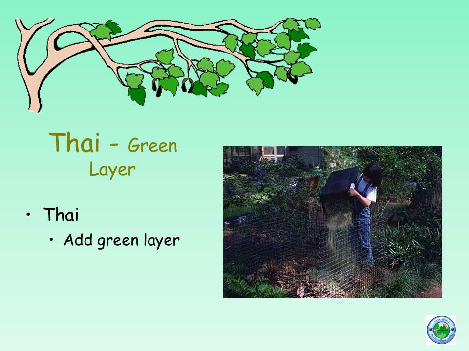 Thai - Green Layer Thai Add green layer