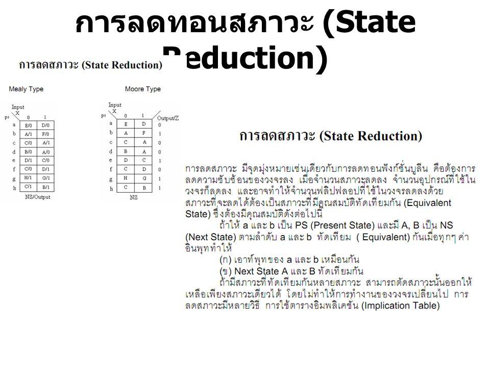 การลดทอนสภาวะ (State Reduction)