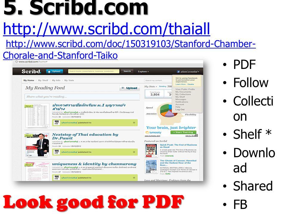 5. Scribd.com 5.